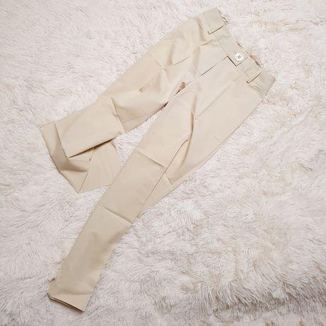 Spodnie z szerokimi nogawkami w stylu safari rozm. 36