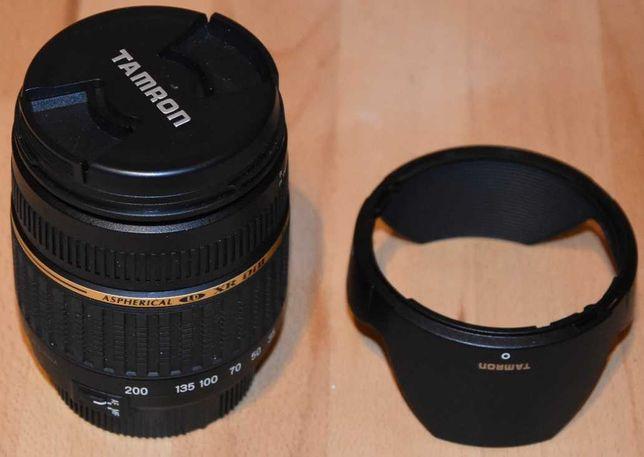 Obiektyw Tamron 18-200 mm F/3.5-6.3 Aspherical XR Di II Nikon