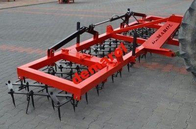 Brony zębowe fi 20 5 polowe ciężkie hydrauliczne rama 100x100 nowe