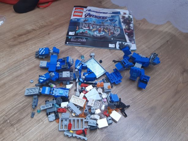 LEGO Super Heroes Лаборатория Железного Человека