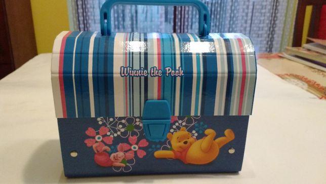 NOWY kartonowy kuferek DISNEY Kubuś Puchatek