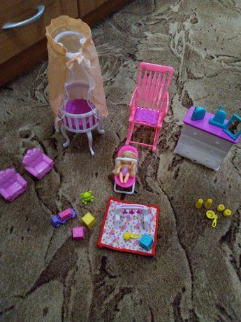 Набор детской для маленькой куклы