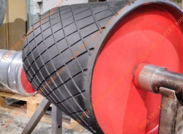 Обрезинивание приводных барабанов