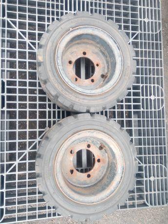 Koła wózek widłowy Rim felgi 6.50-10 opony 200/50-10 r10 2x widlak