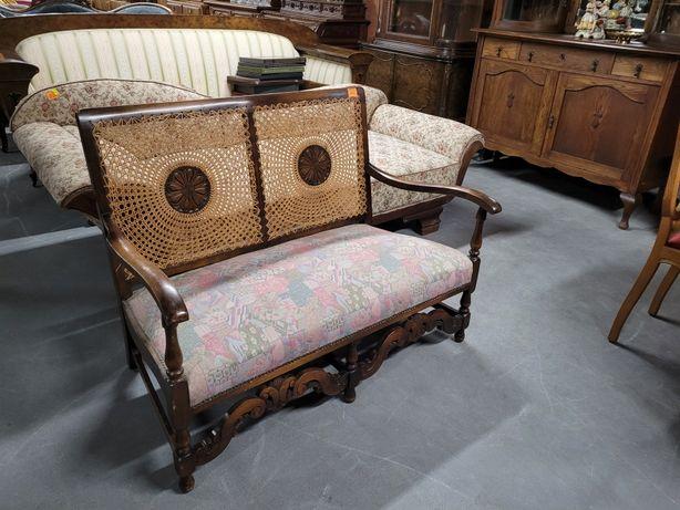 Kanapa, sofa z rafią