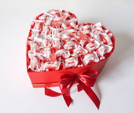 Подарок на 14 февраля .Съедобная коробочка