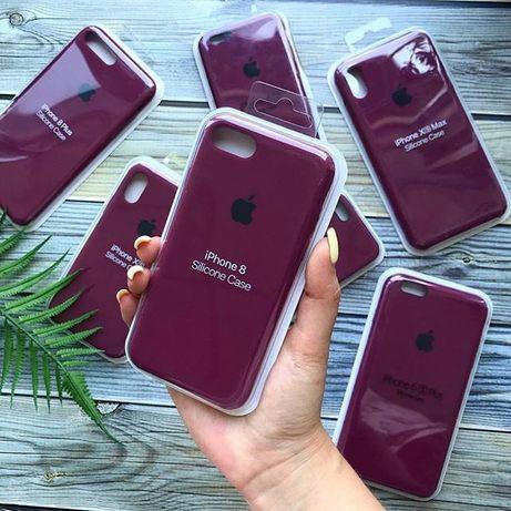 Чехол на iPhone 6/6s7/7Plus/8/XS/XR/10/Silicone Case/Айфон/Apple
