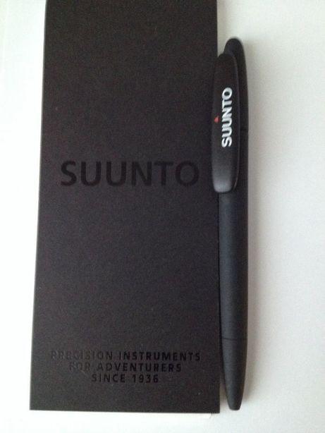 Блокнот в наборе с шариковой ручкой черного цвета Suunto. Финляндия!