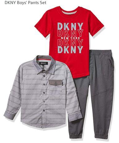 СЭТ  DKNY на мальчика 4 года оригинал