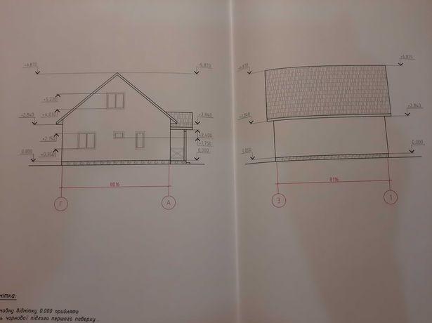 Дом 105 м2, 15 соток участок с садом. с. Блиставица (7 км от Бучи)
