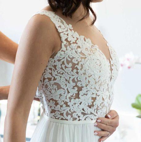 Suknia ślubna r. 36