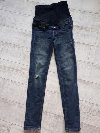 Spodnie ciazowe, dzinsy, jeans, h&m