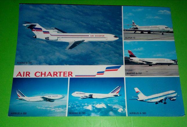 Postal da Air Charter,Air France