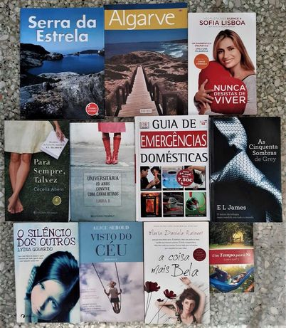 Vários Livros desde 1€
