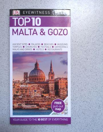 Livro Top10 Malta & Gozo (livro em inglês)