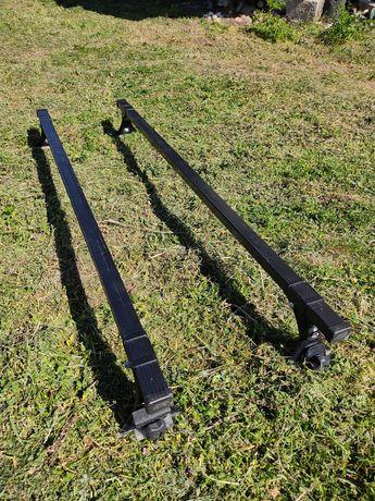 2 barras de tejadilho em aço, marca CRUZ