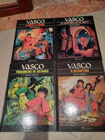 Vasco - Gilles Chaillet - 2 Livros, N 1 e 2 Banda Desenhada