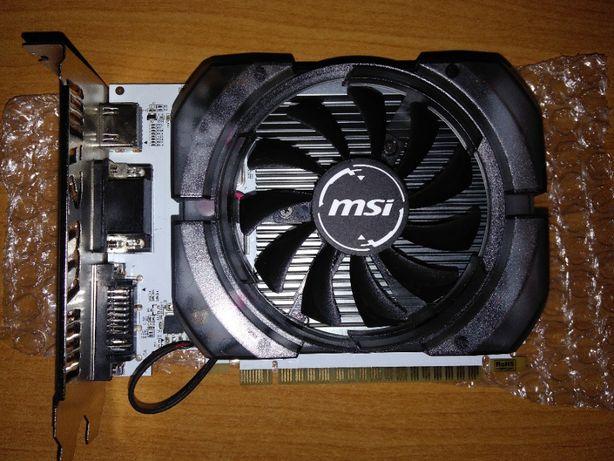 Продам видеокарту MSI GeForce GT 730 4096 Mb DDR3 (128 bit) с нюансом