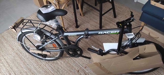 """Bicicleta dobrável alumínio 20"""""""
