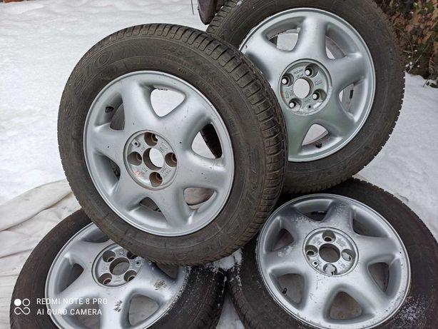 Opony i felgi aluminiowe 4x100 195/65/R15