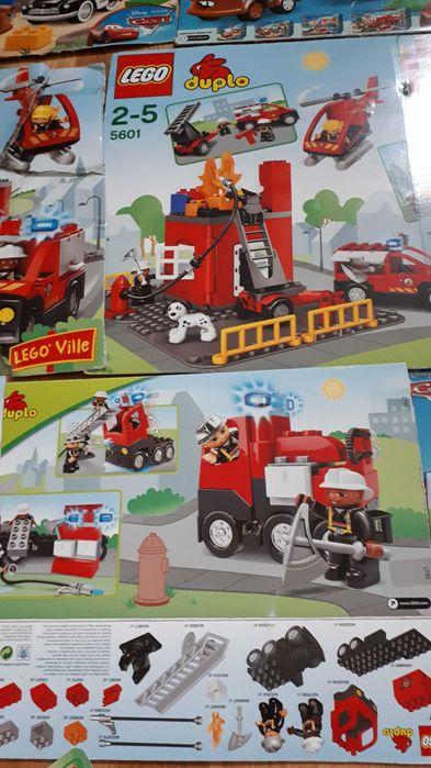 Klocki lego duplo,straż,budowlane, auta,chłopiec,kilka zestawów Kutno - image 1
