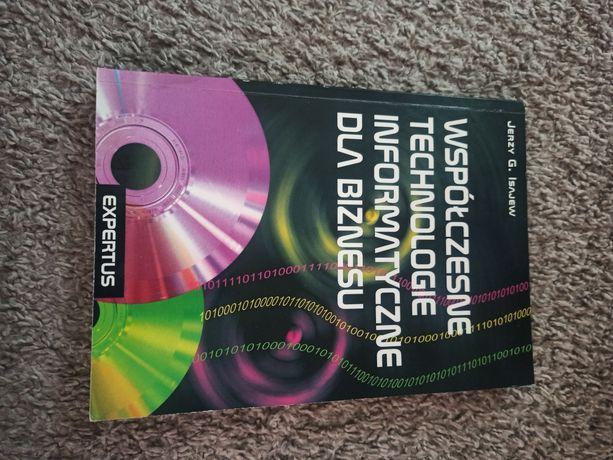 """Podręcznik """"Współczesne technologie informatyczne dla biznesu"""""""