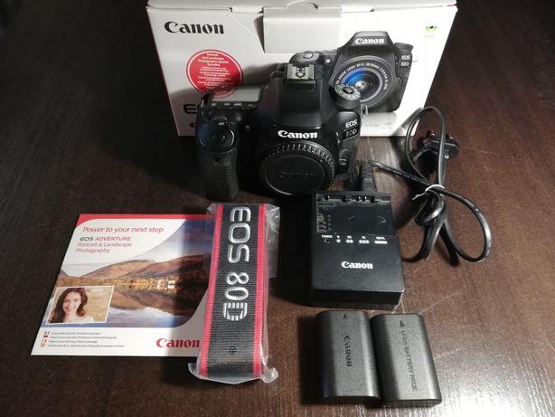 Aparat fotograficzny (lustrzanka) Canon EOS 80D