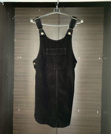 Продам черный джинсовый сарафан