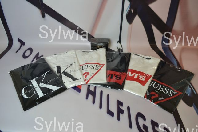 Koszulki Calvin Klein bawełna damskie