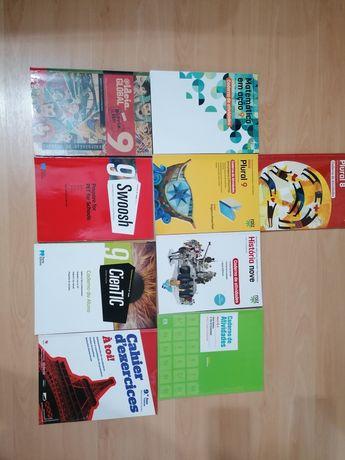 Cadernos de atividades, 9°ano/8°ano