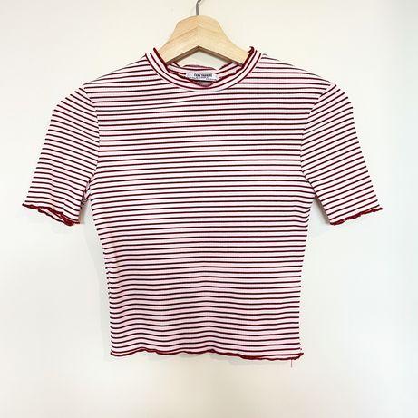 T-shirt / Top Crop Zara (Nunca usado) NOVO