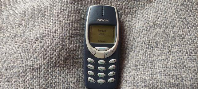 Nokia 3310 nowa bateria orginalna nowa ładowarka orginalna bez simlock