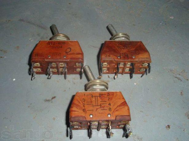 тумблер ПТ2-40В т3 и тп1-2 и тв1-2