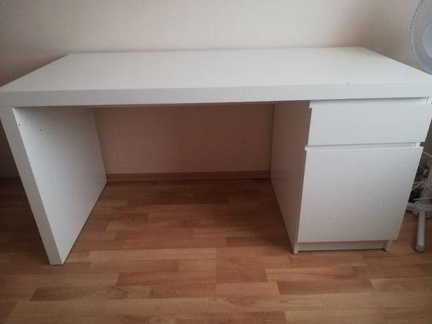 Biurko BIAŁE - IKEA - bardzo solidne