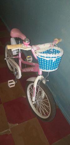 Велосипед для девочки Voona Manchester Kid11 18 дюймов
