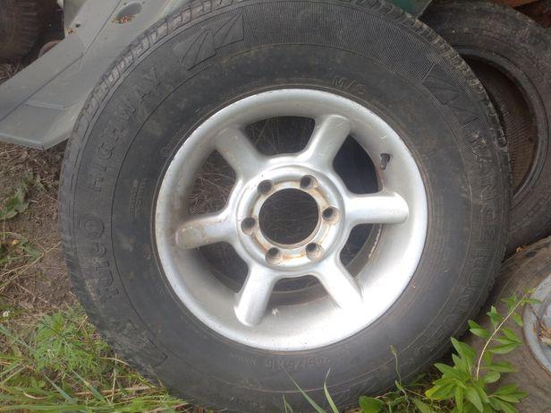 Колеса в сборе (шины + титановые диски) 245/75 R16 Опель Монтерей