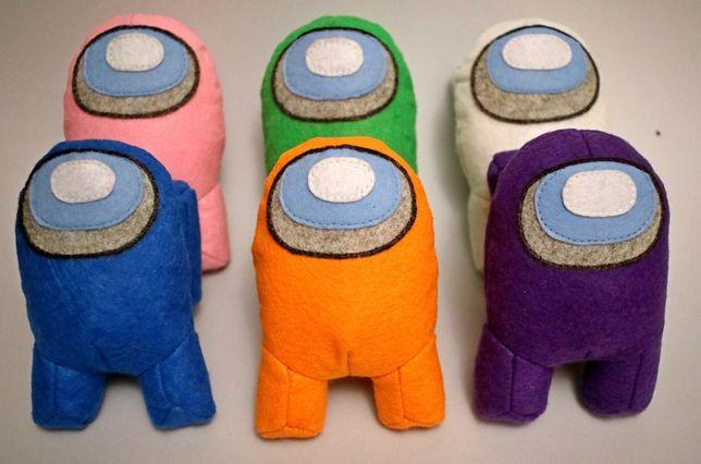 Мягкая игрушка Among Us, Амонг Ас, 12 см, 30 см