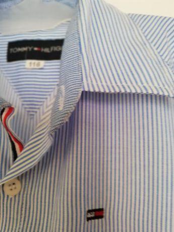 Koszula z krotkim rekawem tommy hilfiger 116 cm jak nowa Święta
