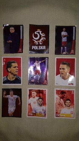 Naklejki do albumu Reprezentacji Polski - piłka nożna