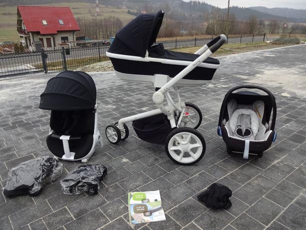 Wózek Quinny Moodd 3w1 spacerowy gondola i fotelik WYSYŁKA !