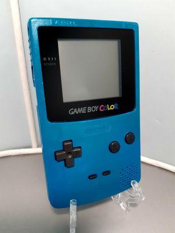 Consola Game Boy Color azul (GBC, Nintendo)