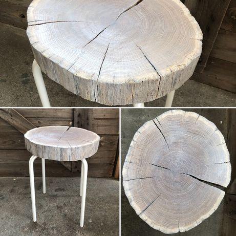 Dąb bielony Stoliki kawowe Drewno-Stal Loft Design Industrial Handemad