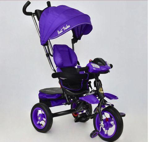 Детский велосипед с защитами, 2в1 от 6 мес. в отличном состоянии