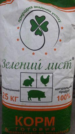 """Комбікорм Старт ТМ """"Зелений лист"""""""