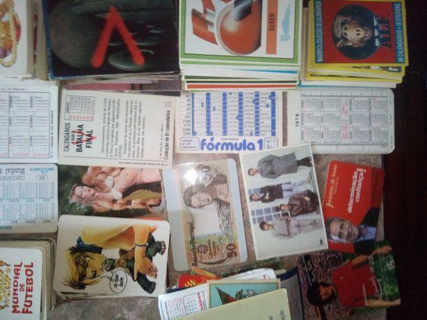 Calendarios de colecao vintage