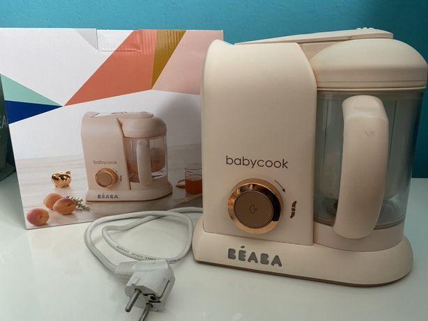 Beaba babycook 4w1 różowy parowar mikser