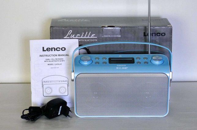 Radio stereofoniczne Lucille  DAB, FM, bluetooth