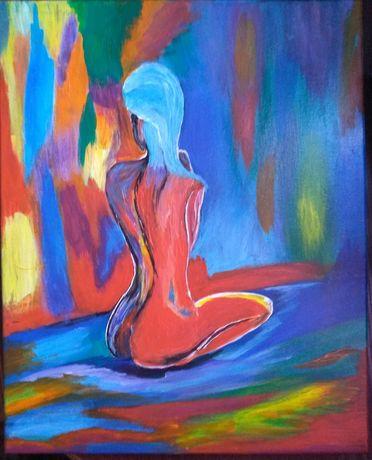Obraz malowany ręcznie płótno