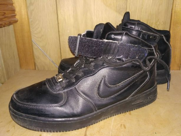 Кеди Nike AIR FORCE 1 MID чорний 43