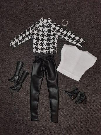 Ubranka 2 zestawy dla barbie+buty